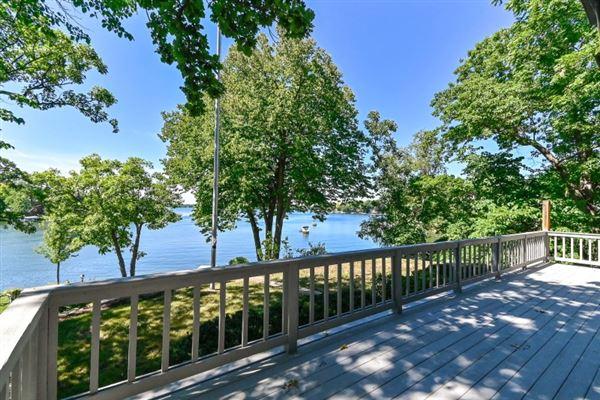 Luxury properties Iconic Lake Beulah peninsula