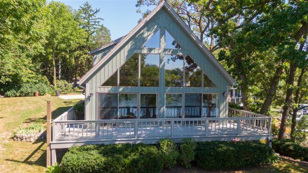 Luxury real estate Iconic Lake Beulah peninsula