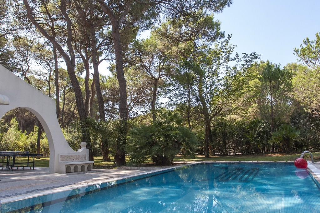 Luxury homes in Wonderful villa with pool by the Riva dei Tessali
