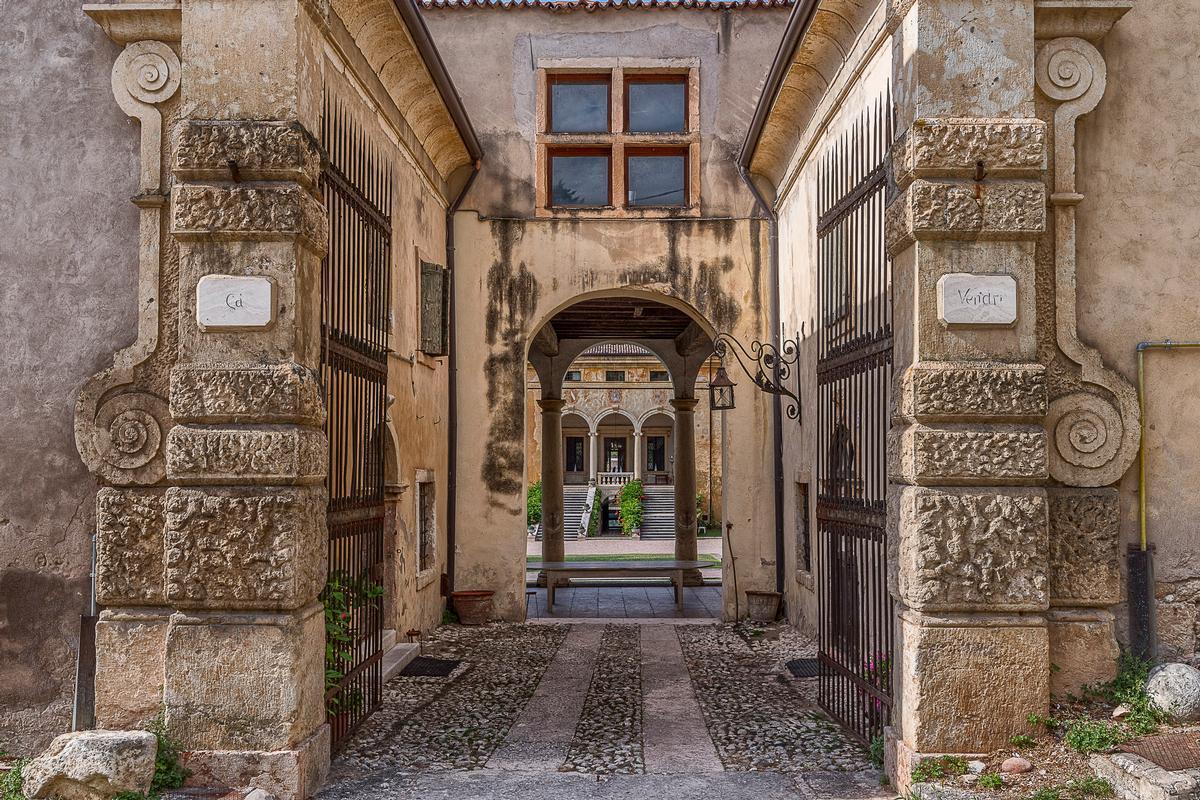 Mansions Amazing Renaissance Villa in Verona Italy