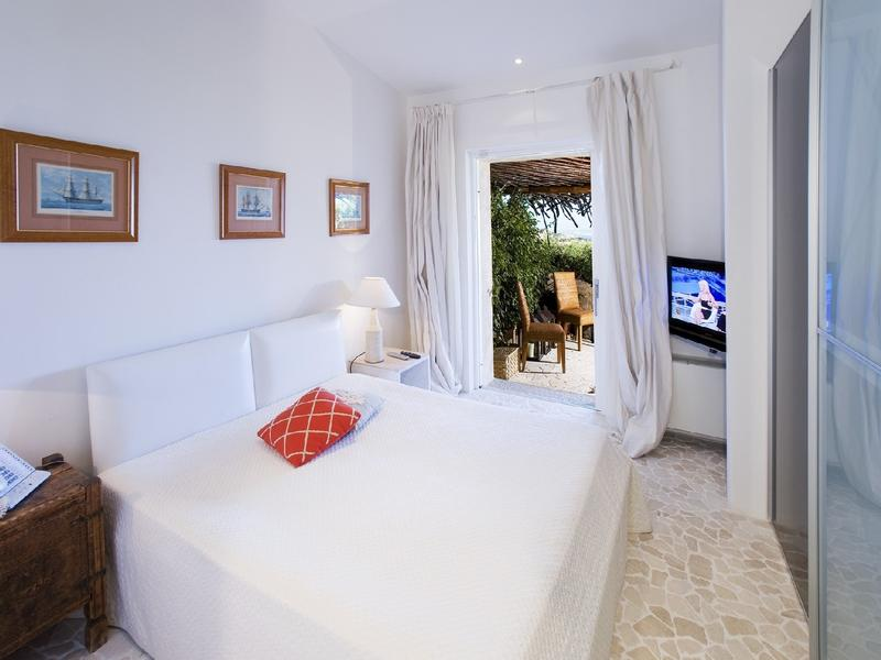 Mansions in Villa Sa Sposa in Sardinia Italy