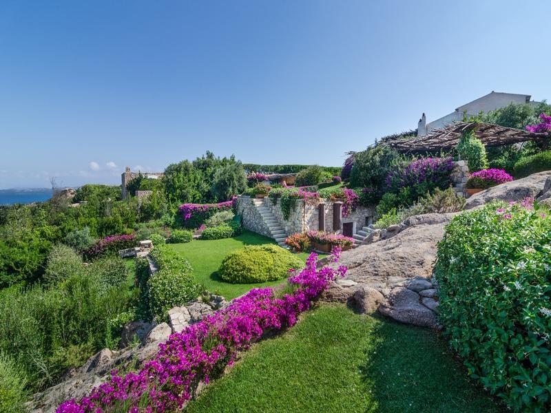 Mansions Villa Sa Sposa in Sardinia Italy