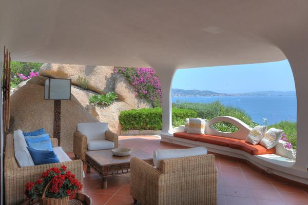 Luxury real estate villa Bianca in Porto rafael