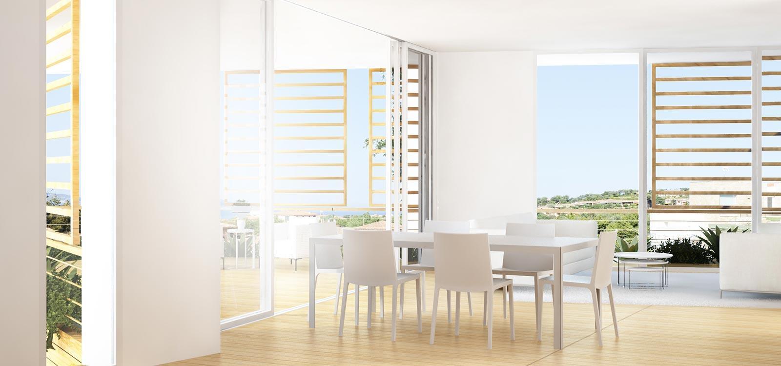 Luxury real estate unique Porto Rotondo complex