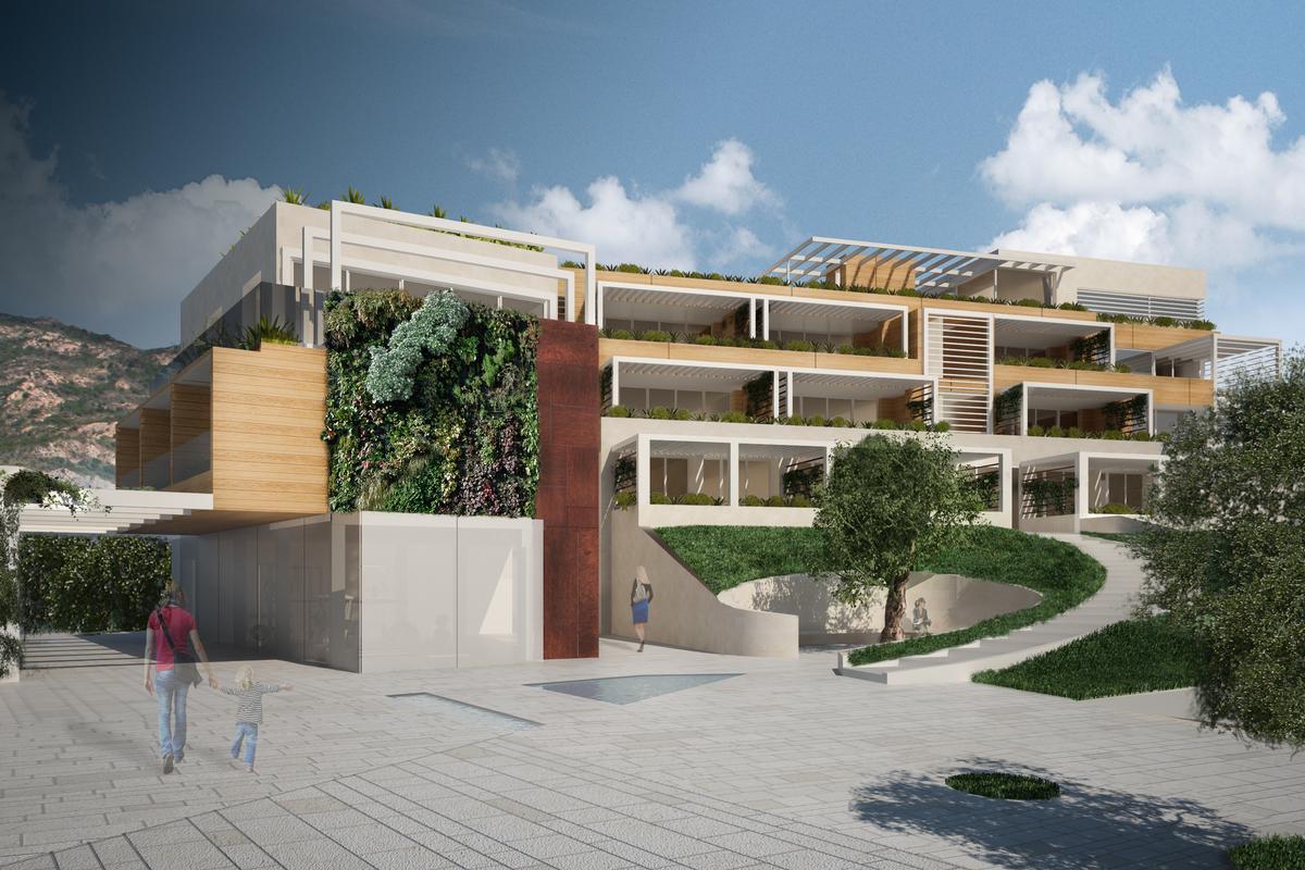 Mansions unique Porto Rotondo complex