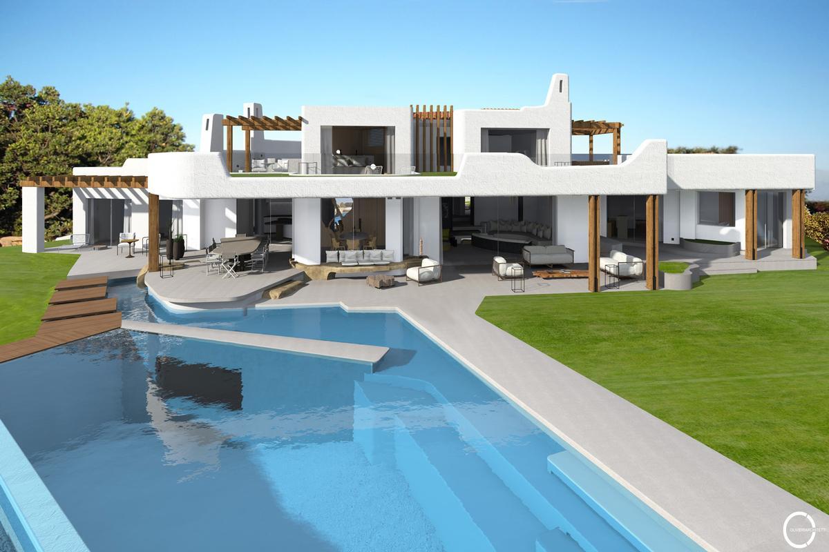 Luxury real estate Villa Armàn