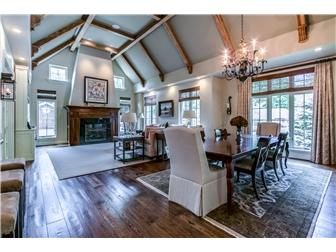 Luxury real estate custom French Country home