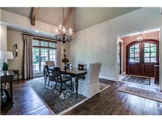 custom French Country home luxury real estate