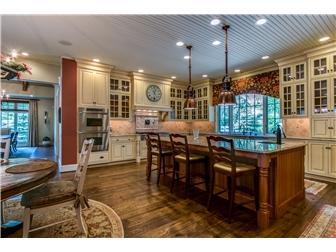 Luxury properties custom French Country home