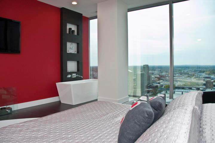 Luxury homes in 30th Floor High Rise Overlooking Grand River
