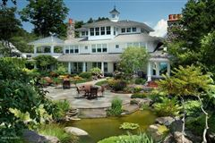 Mansions in Magnificent lakefront estate with over 17,000 square feet
