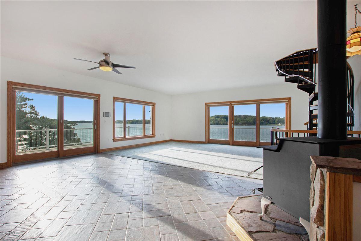 Luxury properties custom built home offers a spacious open floor plan