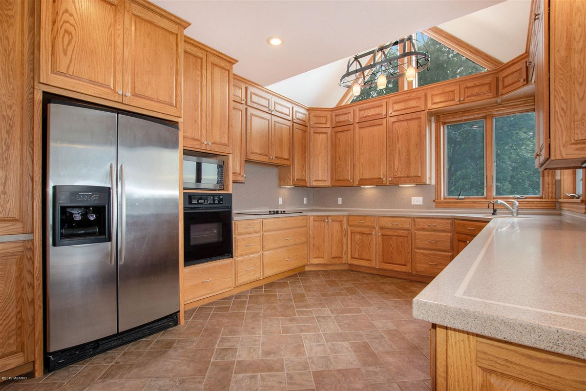 Luxury homes in custom built home offers a spacious open floor plan