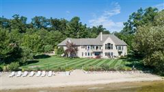 Private White Lake Frontage - Lake Michigan Access luxury properties
