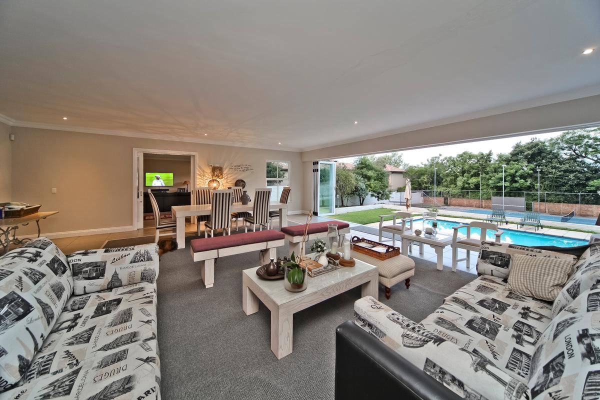 Luxury real estate Home with 4 garages and tennis court
