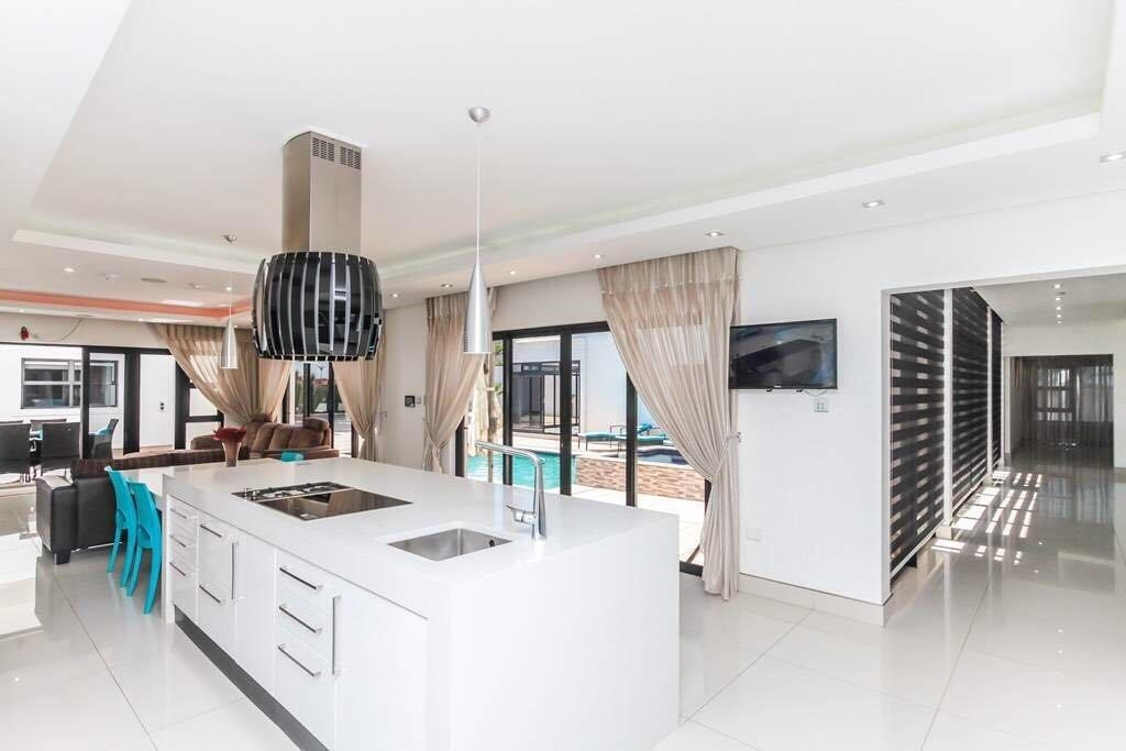 Outstanding Home with Chandelier in Entrance luxury properties