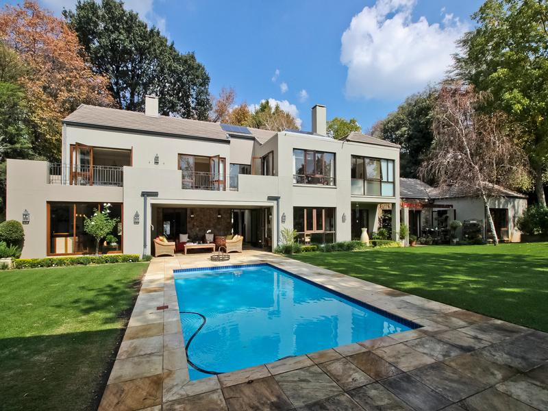 Luxury properties A coveted location in Johannesburg