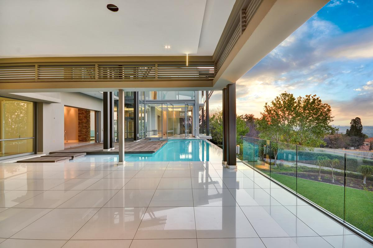 Luxury homes in an exhilarating lifestyle in Johannesburg