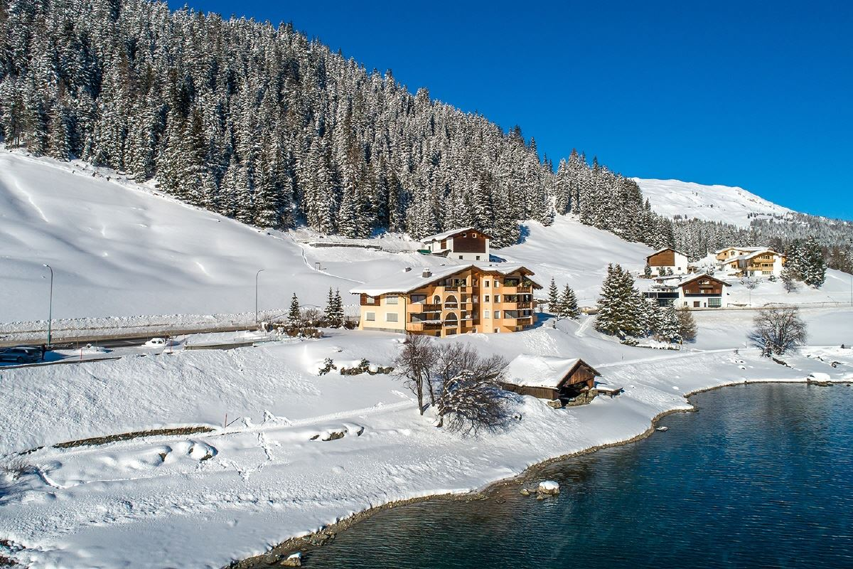 Luxury real estate distinctly special apartment on Lake Davos