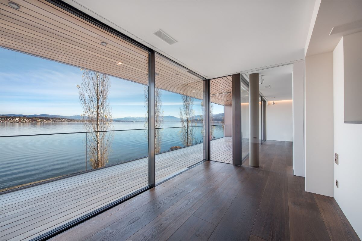 Luxury homes luxury lakeside apartment in Wädenswil