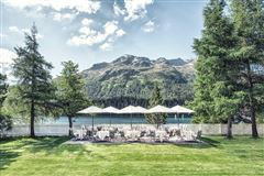 Luxury homes in Apartment in the famous Badrutts Palace Hotel in St. Moritz