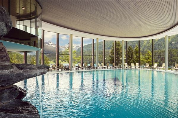 Luxury real estate Apartment in the famous Badrutts Palace Hotel in St. Moritz