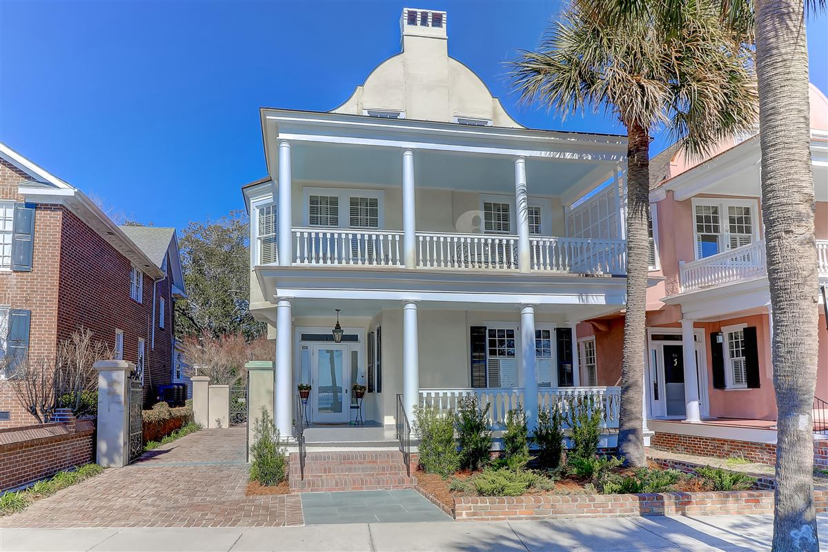Mansions exceptional home on the historic Battery