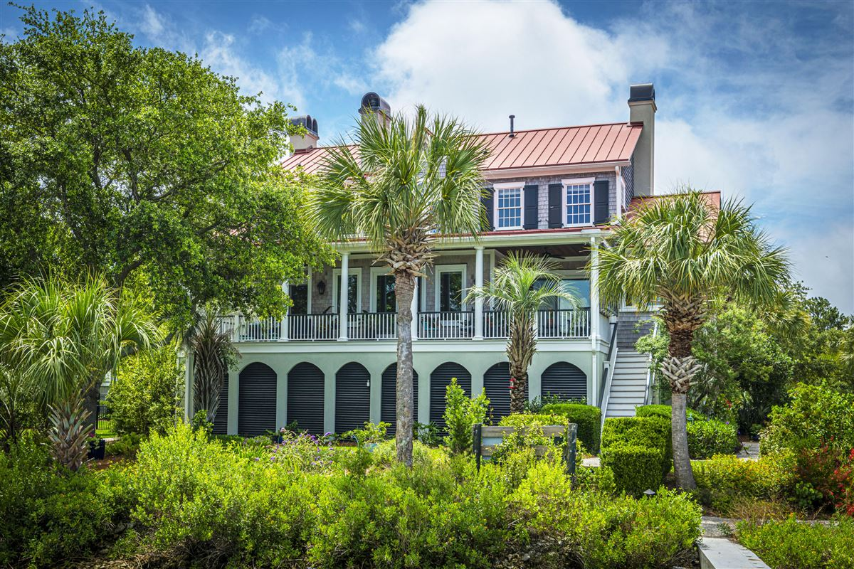 Mansions Incredible deep-water Lowcountry home