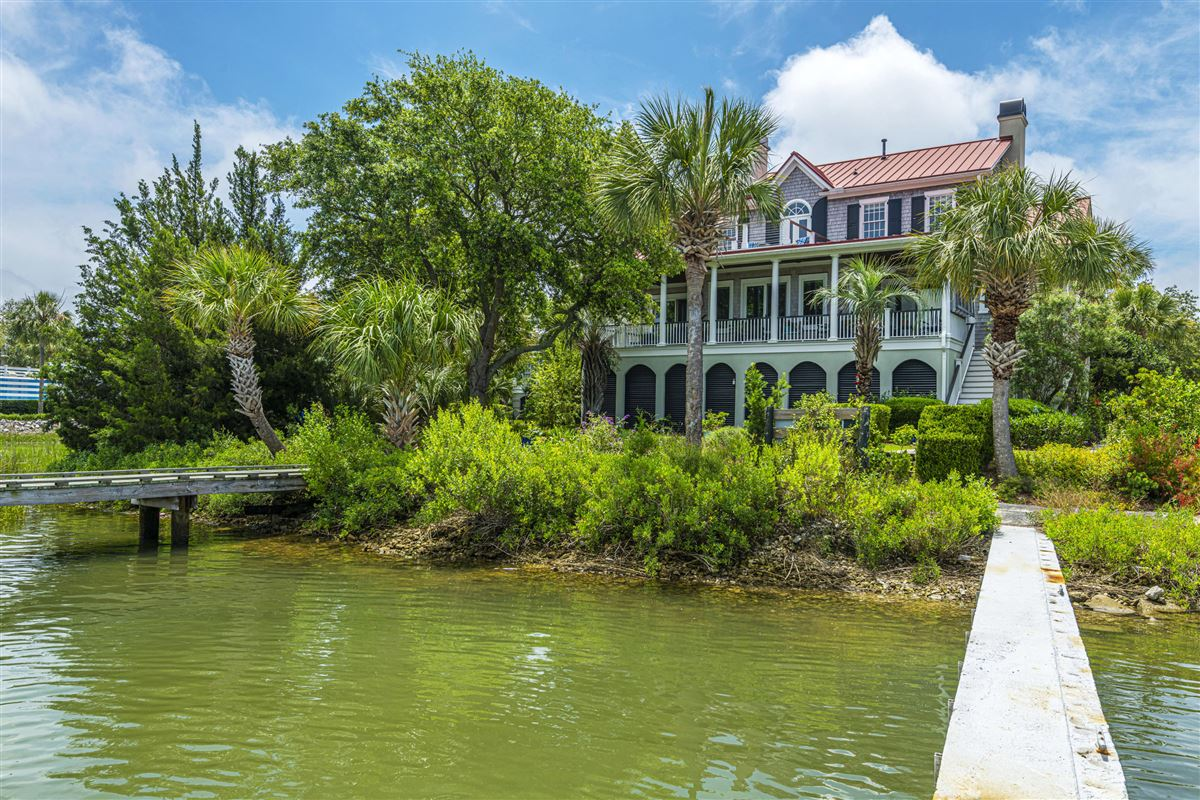 Incredible deep-water Lowcountry home mansions