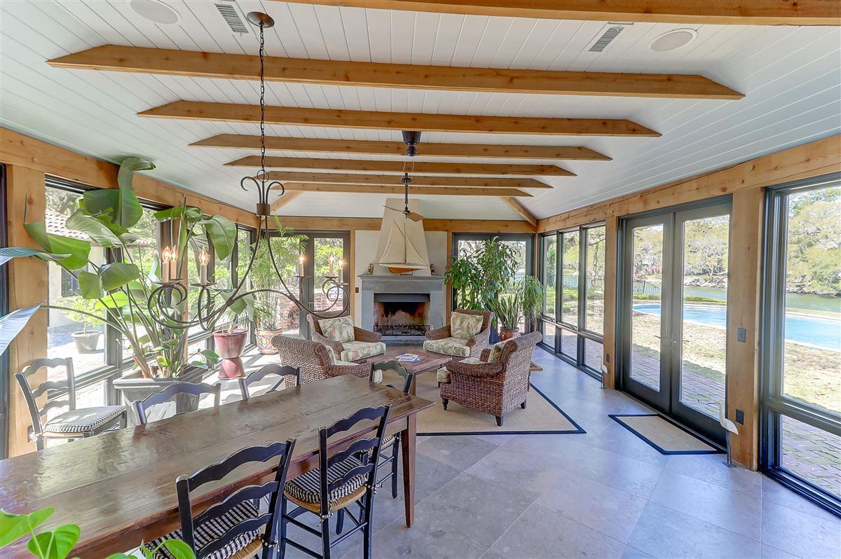 Luxury properties Waterfront estate home