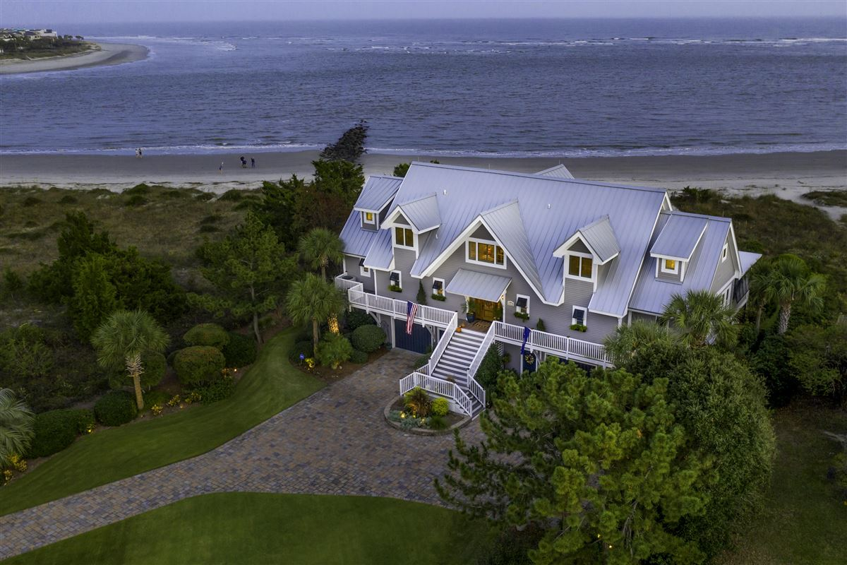 Luxury real estate Ocean front home in sullivans island