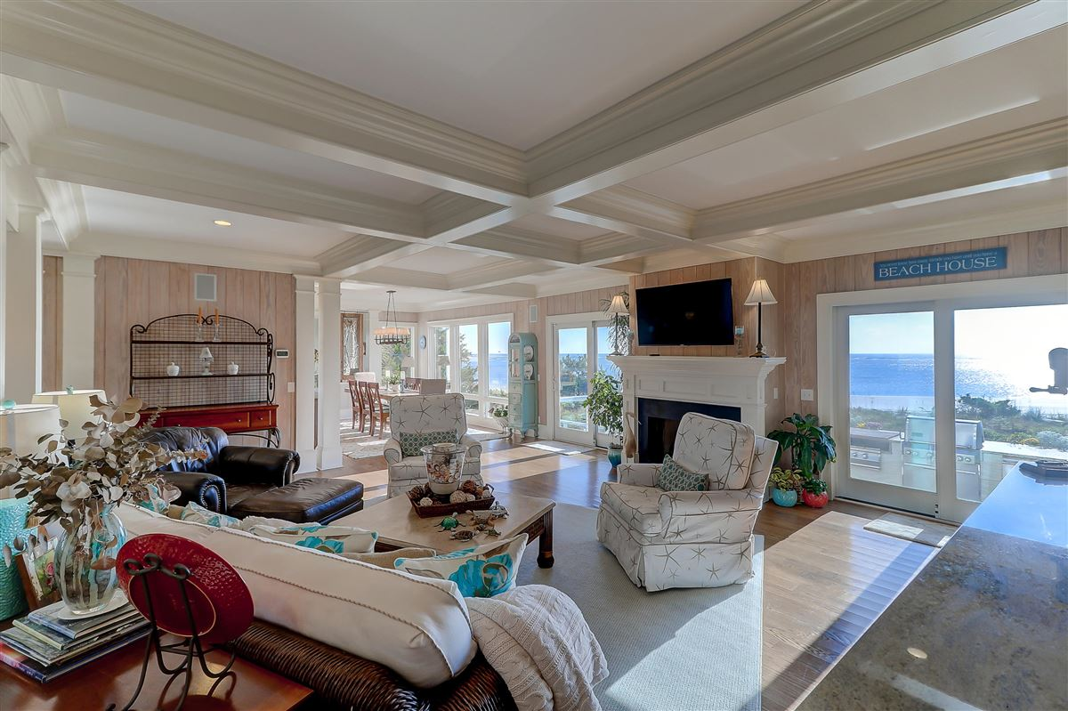 Ocean front home in sullivans island luxury properties