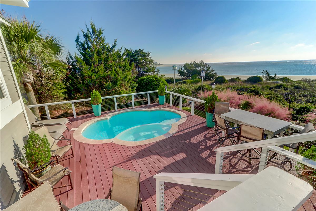 Ocean front home in sullivans island luxury real estate