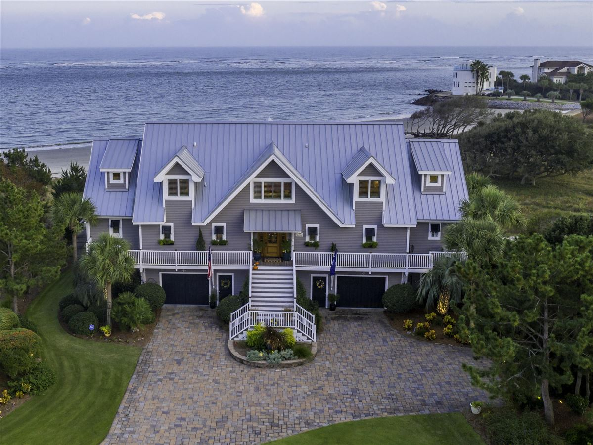 Luxury homes in Ocean front home in sullivans island