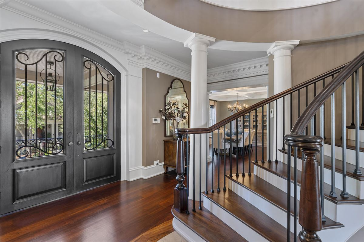 three-story deepwater home on Ralston Creek mansions