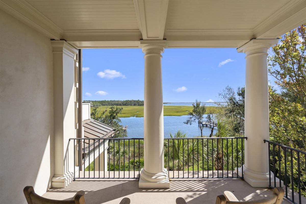three-story deepwater home on Ralston Creek luxury real estate