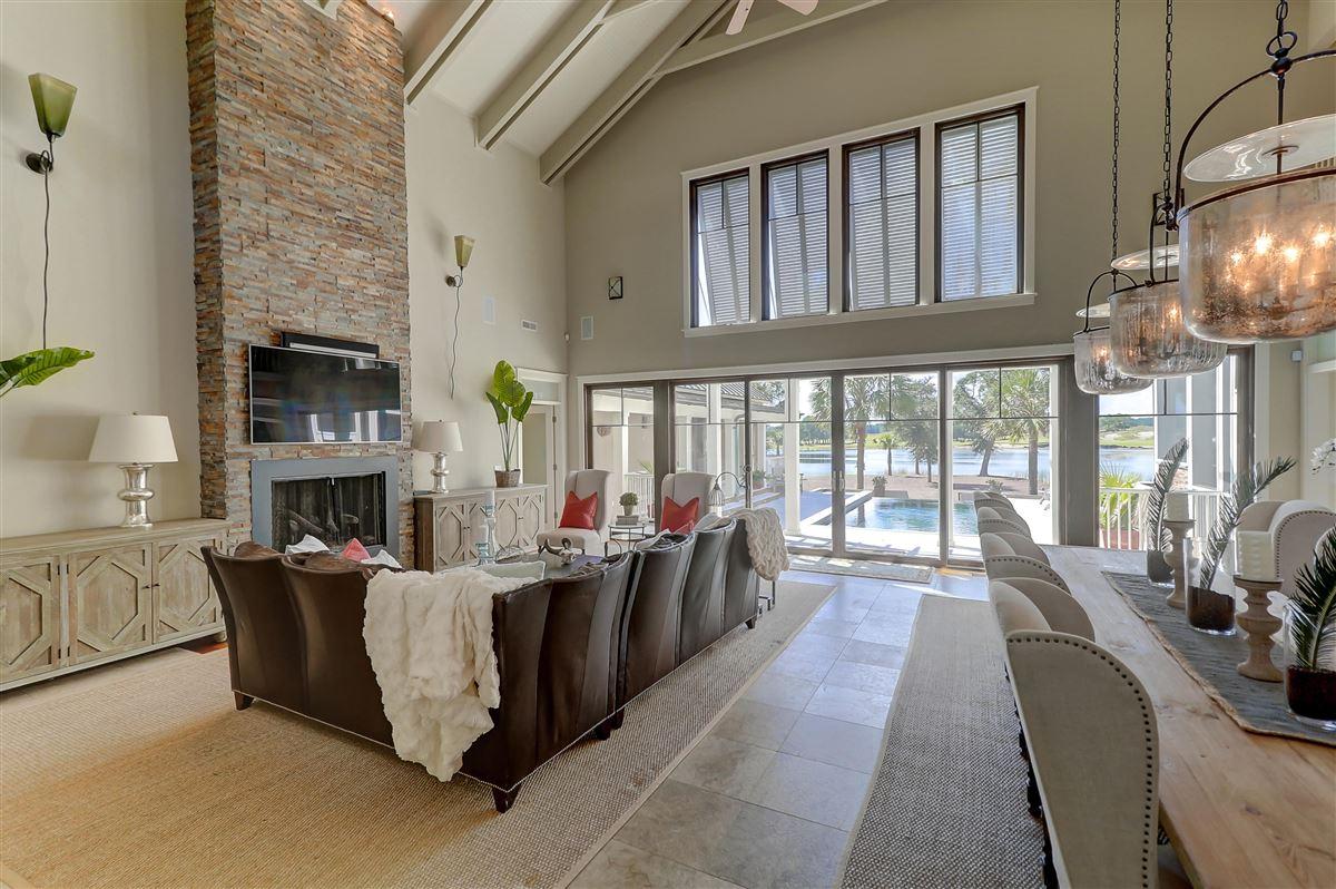 custom stunner in Rice Fields at Bulls Bay luxury real estate
