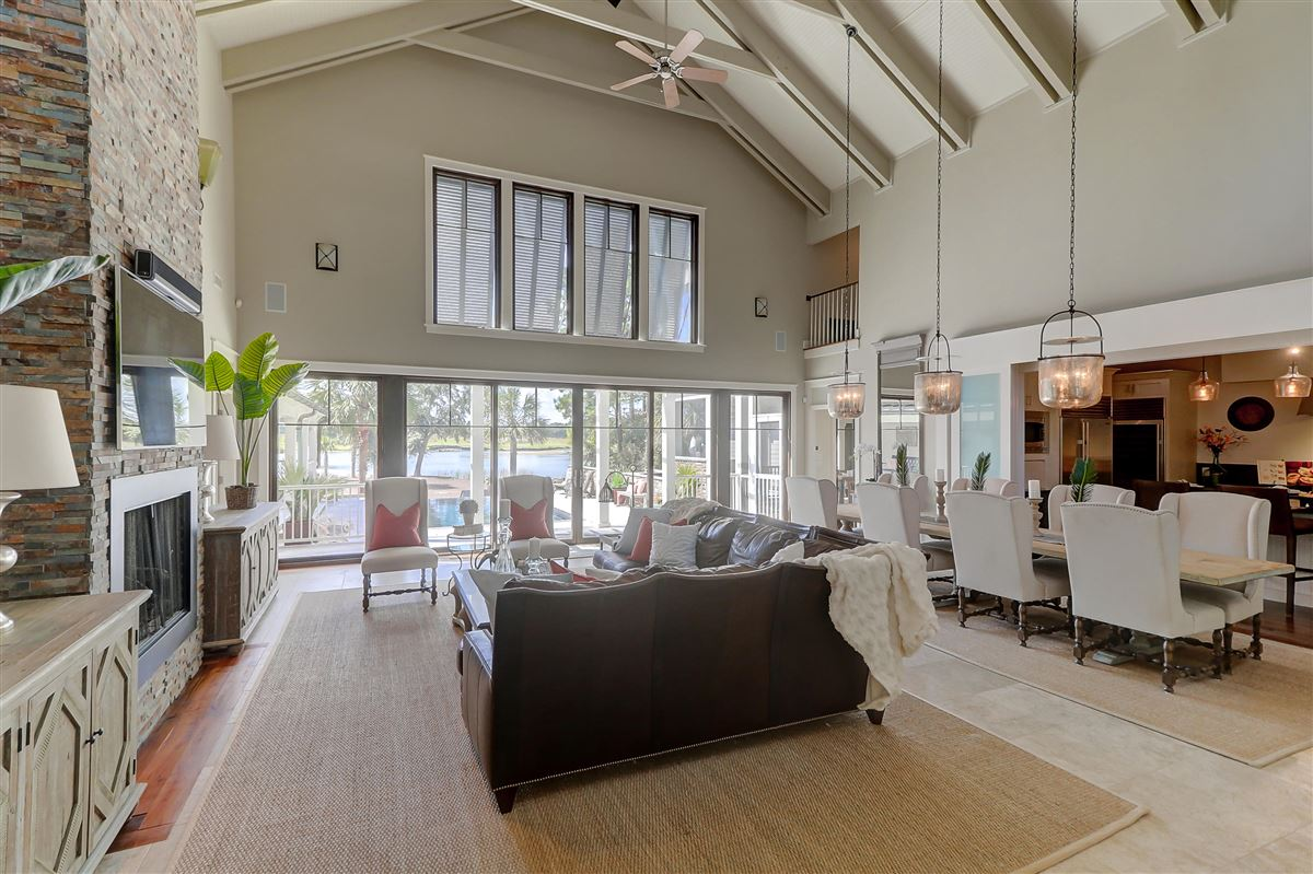 Luxury properties custom stunner in Rice Fields at Bulls Bay