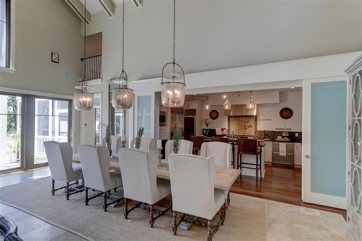 Luxury homes custom stunner in Rice Fields at Bulls Bay