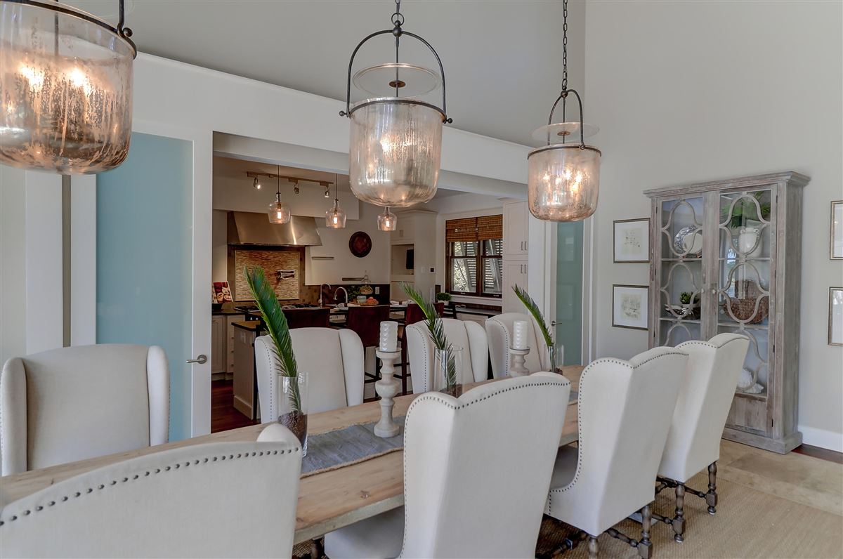 Luxury real estate custom stunner in Rice Fields at Bulls Bay