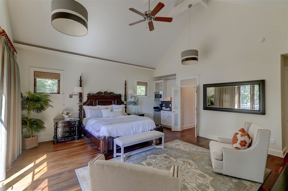 Mansions in custom stunner in Rice Fields at Bulls Bay