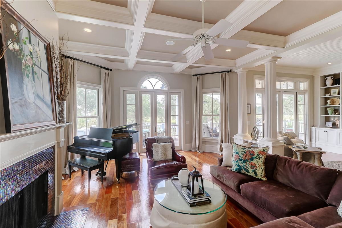 Luxury homes in High bluff with expansive views