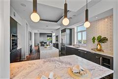 Luxury homes Sleek and stylish penthouse