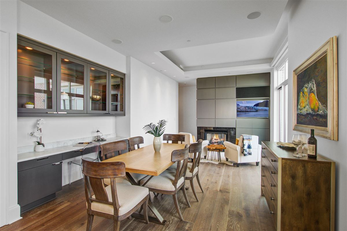 Sleek and stylish penthouse luxury real estate