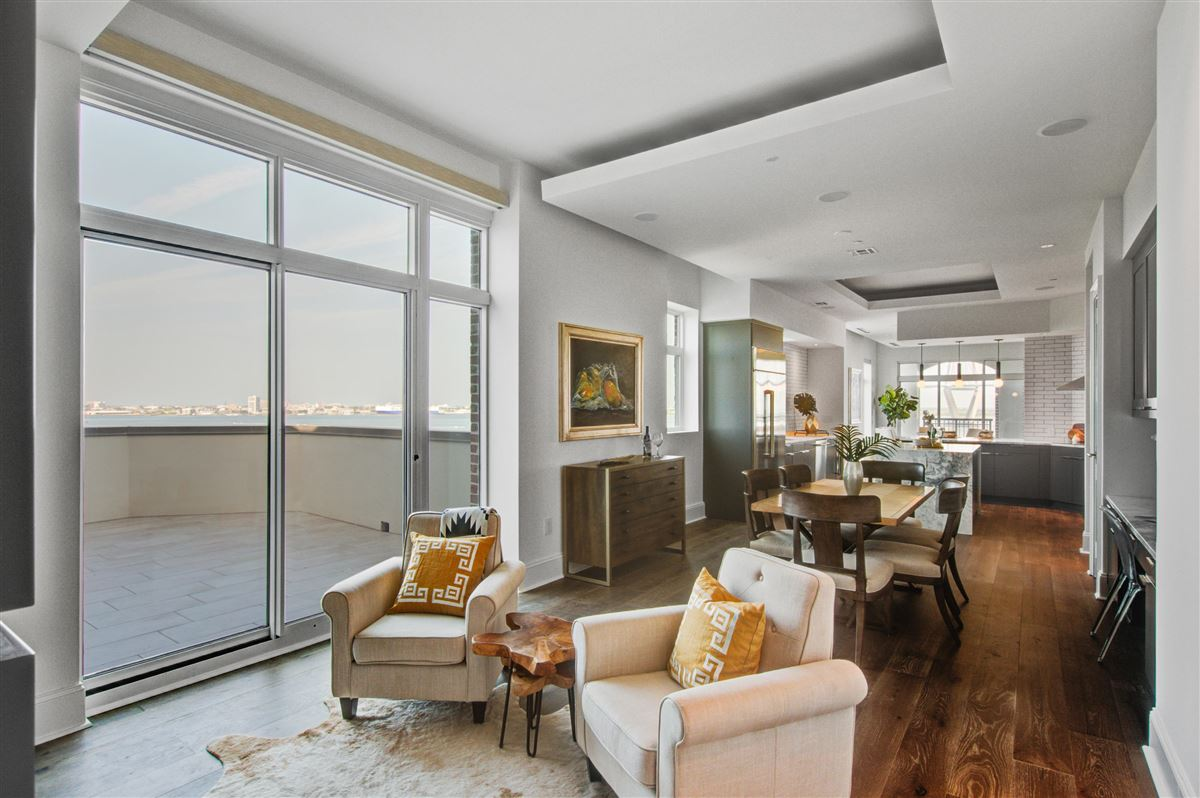 Sleek and stylish penthouse luxury properties