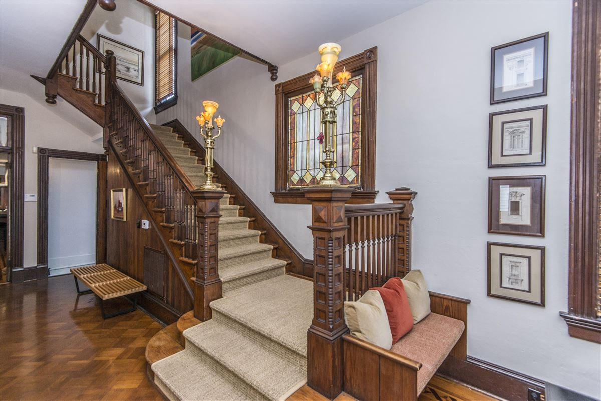 Beautifully restored Victorian home luxury real estate