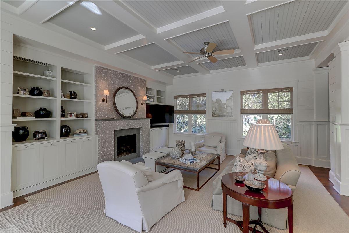 Mansions in Coastal designed home