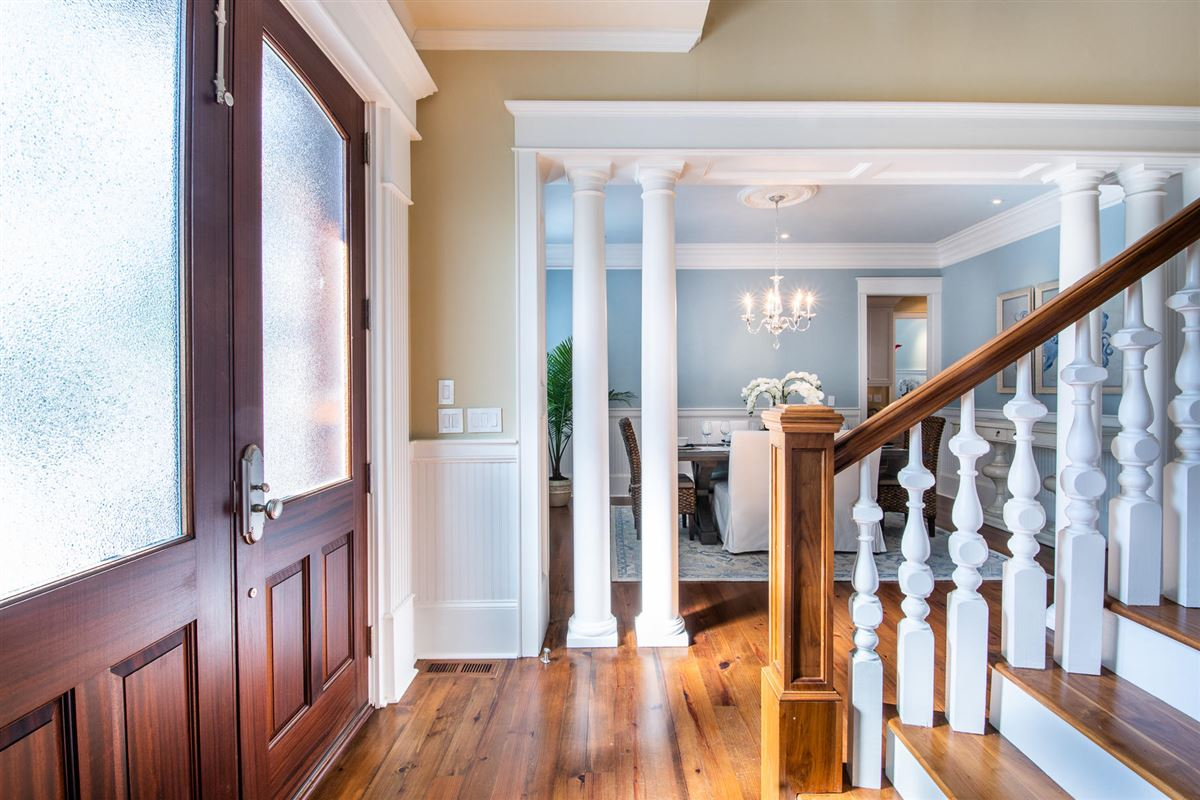 Luxury homes in perfect blend of traditional and modern in prestigious location