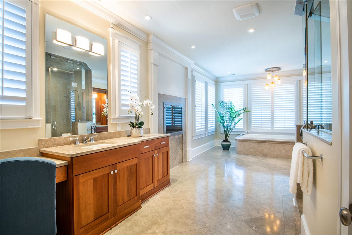 Luxury homes perfect blend of traditional and modern in prestigious location