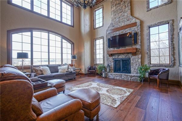 Incredible Zionsville Estate  luxury real estate